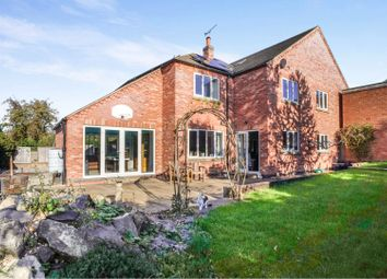 Thumbnail 4 bed detached house for sale in Wheatlands Road, Burton-On-Trent