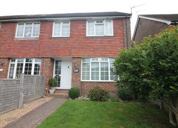 Thumbnail 3 bed end terrace house for sale in Horsham Road, Findon Village