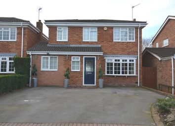 Thumbnail 4 bed detached house to rent in Inchford Road, Solihull