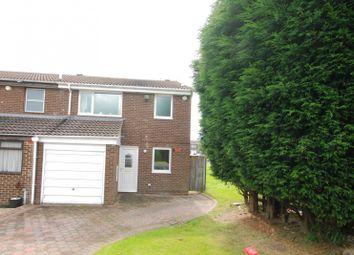 Thumbnail 3 bed semi-detached house to rent in Thornbury Close, Tudor Grange, Kingston Park