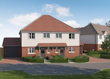 Thumbnail 3 bed semi-detached house for sale in Longhurst Drive, Off Marringdean Road, Billinghurst, West Sussex