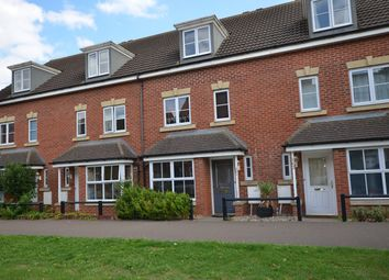 Thumbnail 4 bed terraced house to rent in West Lake Avenue, Hampton Vale, Peterborough