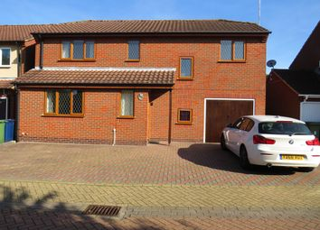 Thumbnail 4 bed detached house to rent in The Green, March, Cambs