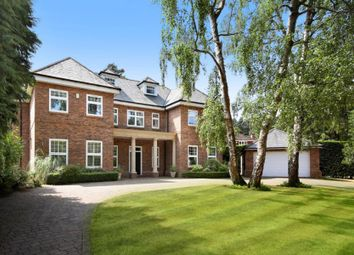 Thumbnail 6 bed detached house to rent in Woodlands Ride, Ascot