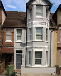 Thumbnail 1 bed flat to rent in Broadmead Road, Folkestone, Folkestone