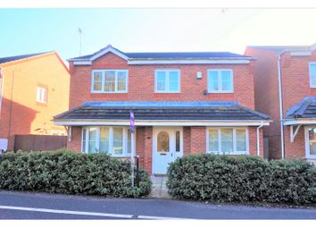 Thumbnail 4 bed detached house for sale in Lupin Walk, Nuneaton