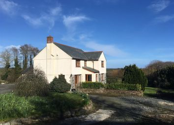 Thumbnail 5 bed detached house to rent in Ruan Minor, Helston