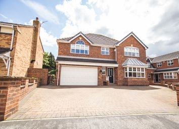 Thumbnail 5 bed detached house for sale in Roe Croft Close, Sprotbrough, Doncaster