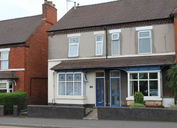 Thumbnail 2 bedroom semi-detached house to rent in Horninglow Road North, Horninglow, Burton-On-Trent