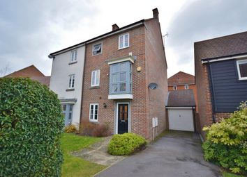 Thumbnail 5 bed town house for sale in Marnel Park, Basingstoke