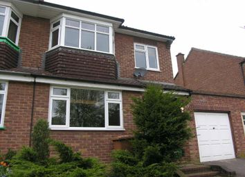 Thumbnail 3 bed semi-detached house to rent in Proctors Way, Bishop's Stortford