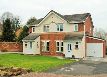 Thumbnail 3 bed semi-detached house for sale in Ambleway, Walton-Le-Dale, Preston, Lancashire