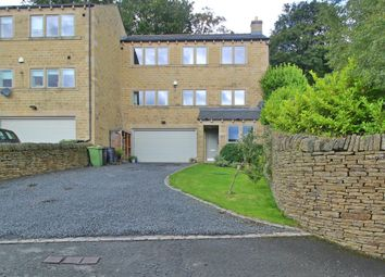 Thumbnail 4 bed end terrace house for sale in Sunnywood House, Chandler Lane, Honley, Holmfirth