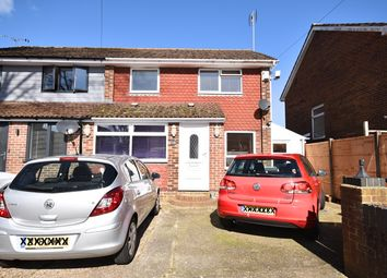 Thumbnail 4 bed semi-detached house to rent in Bridefield Crescent, Waterlooville