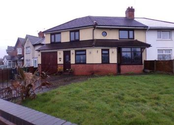 Thumbnail 4 bed semi-detached house for sale in Wallows Lane, Walsall, West Midlands
