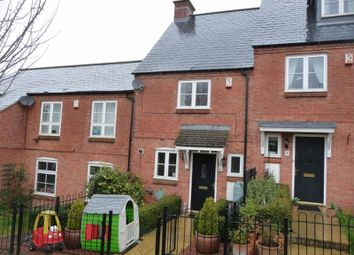 Thumbnail 2 bed terraced house to rent in Hawthorn Avenue, Mawsley, Kettering