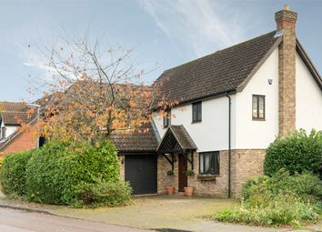 Thumbnail 4 bed detached house for sale in Snowy Way, Hartford, Huntingdon