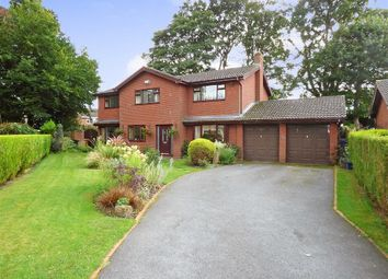 Thumbnail 4 bed detached house for sale in Ashdale Close, Alsager, Stoke-On-Trent