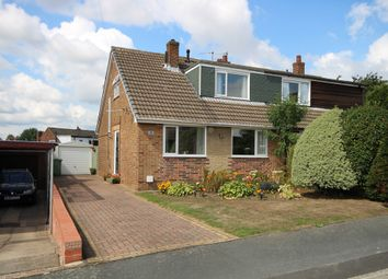 Thumbnail 4 bed semi-detached bungalow for sale in Rosedale, Rothwell, Leeds