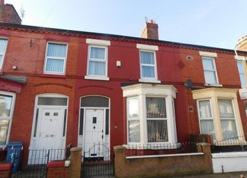 Thumbnail 3 bed terraced house to rent in Antrim Street, Liverpool