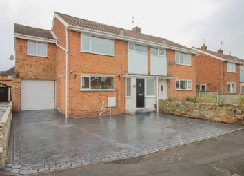 Thumbnail 4 bed semi-detached house for sale in Rutland Drive, Mickleover, Derby