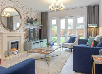 "Thumbnail 4 bedroom semi-detached house for sale in ""The Jayfield"" at Weston Road, Aston Clinton, Aylesbury"