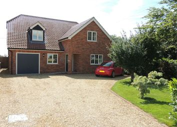 Thumbnail 4 bed detached house for sale in Barroway Drove, Downham Market