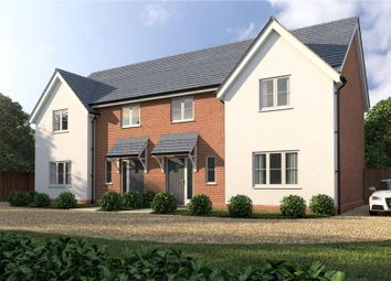 Thumbnail 3 bed semi-detached house for sale in Chapel Road, Cockfield, Bury St. Edmunds
