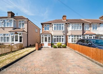 Thumbnail 3 bedroom end terrace house for sale in St Margarets Avenue, Cheam, Sutton