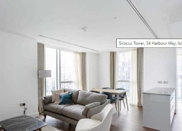 Thumbnail 1 bed flat to rent in Sirocco Tower, 34 Harbour Way, Isle Of Dogs, London