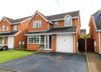 Thumbnail 4 bed detached house for sale in Holmes Close, Castlefields, Stafford