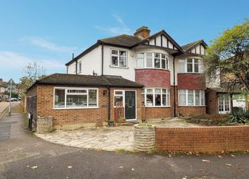 Thumbnail 3 bed semi-detached house for sale in Church Hill Road, Cheam, Sutton