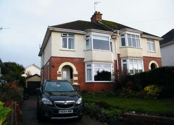 Thumbnail 3 bedroom semi-detached house for sale in Exmouth, Devon