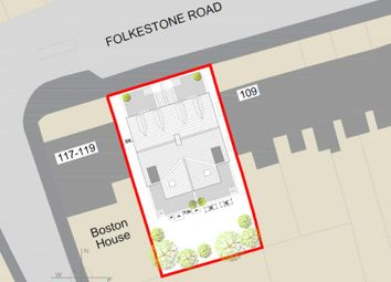 Thumbnail Land for sale in Folkestone Road, Dover, Kent