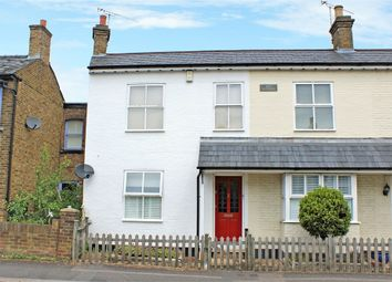Thumbnail 3 bed semi-detached house for sale in Queens Road, Hersham, Walton-On-Thames, Surrey