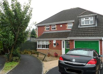 Thumbnail 4 bedroom detached house for sale in Maes Ty Gwyn, Llangennech, Llanelli, Carmarthenshire
