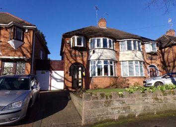 Thumbnail 3 bed semi-detached house for sale in Abbotts Road, Erdington, Birmingham, West Midlands