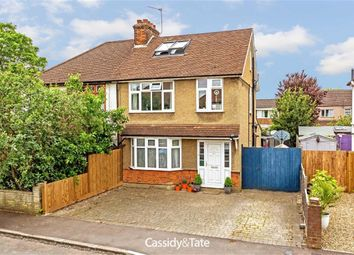 Thumbnail 4 bed semi-detached house for sale in Oxford Avenue, St Albans, Hertfordshire