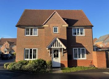 Thumbnail 3 bed detached house for sale in Tacitus Way, North Hykeham, Lincoln, Lincolnshire