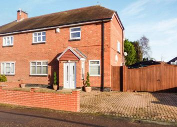 Thumbnail 4 bed semi-detached house for sale in Central Avenue, Syston
