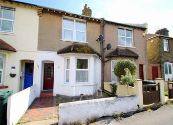 Thumbnail 3 bed terraced house for sale in Knockhall Chase, Greenhithe
