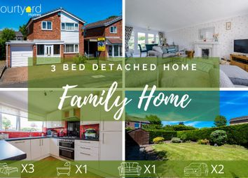 Thumbnail 3 bed detached house for sale in Thompson Ave, Culcheth, Warrington