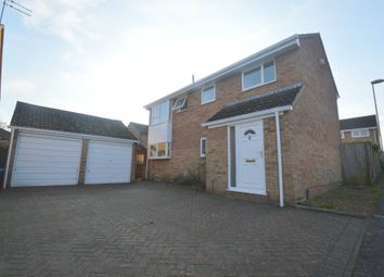 Thumbnail 5 bed detached house for sale in Houghton Close, Norwich