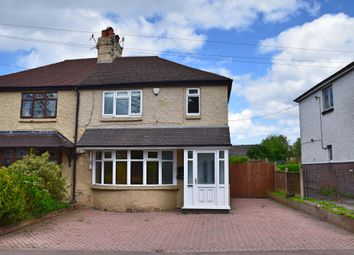 Thumbnail 3 bed semi-detached house for sale in Old Road, Barlaston, Stoke-On-Trent