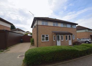 Thumbnail 3 bedroom semi-detached house for sale in Fairford Crescent, Downhead Park, Milton Keynes