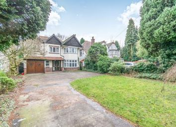 Thumbnail 5 bed detached house for sale in Yardley Wood Road, Moseley, Birmingham, West Midlands
