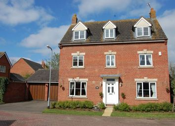Thumbnail 5 bedroom detached house for sale in Parnell Close, West Haddon, Northampton