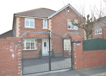 Thumbnail 4 bed detached house for sale in Prestbury Avenue, Blackpool