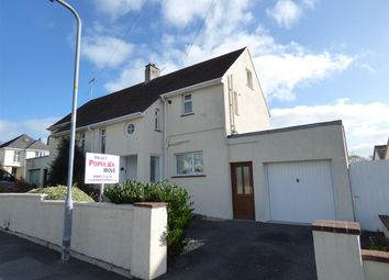 Thumbnail 3 bed semi-detached house to rent in The Rise, Haverfordwest