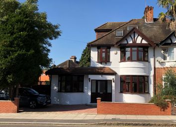 Thumbnail 5 bed semi-detached house for sale in 119 Claremont Avenue, New Malden, Surrey